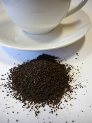 Caffeine in coffee and tea