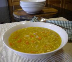 Amazing lentil soup recipe
